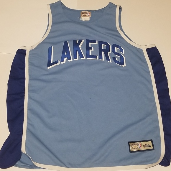 finest selection 5f396 0c360 Firm Price * Hardwood Classics Throwback LA Lakers